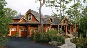 craftsman house plans with walkout basement cottage style craftsman lake house plan plans luxuriousn rustic