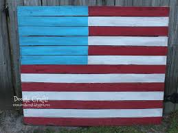 How To Paint American Flag American Flag Upcycled Pallet 3 Steps With Pictures