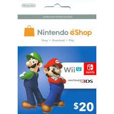 eshop gift cards 20 dollar nintendo eshop gift card usd cryptokey shop