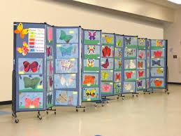 Display Art   divider as artwork display surface studentartwork artexhibit