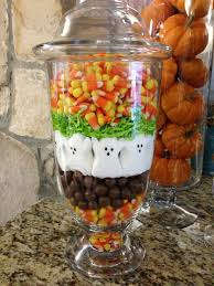 peeps halloween decorations apothecary jars fall pinterest