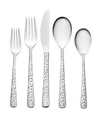 oneida lola stainless steel flatware set dillards