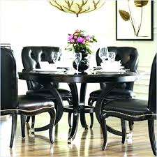 round black glass dining table and chairs u2013 mitventures co