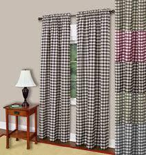 checked curtains drapes u0026 valances ebay