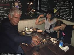 celebrity chef anthony bourdain speaks out about his split from