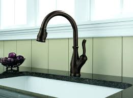 pull kitchen faucet reviews delta leland faucet delta single handle pull kitchen faucet