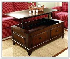 Lift Top Coffee Tables Storage Lift Top Coffee Table With Storage Drawers Top Coffee Tables With
