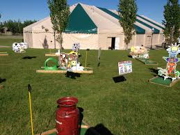 a mini golf course theme options available carnivals for kids