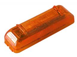 truck lite marker lights truck lite 19350y 19 series marker clearance pc rated led sealed 2