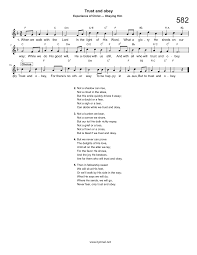 hymn trust and obey