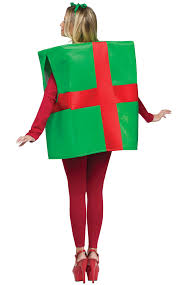 gift box costume christmas