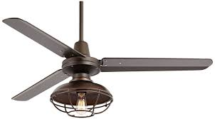 Ceiling Fan With Cage Light 60 Industrial Ceiling Fan With Light Contemporary Home Decorators