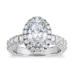 oval wedding rings vaughan for blue nile grandeur oval halo diamond engagement