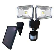 led security light home depot solar outdoor security lighting outdoor lighting the home depot