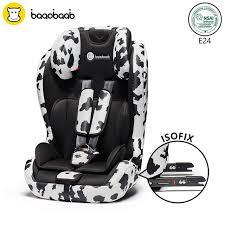 voiture 3 sièges bébé baaobaab 2 en 1 isofix connecteur siège de voiture 9 36 kg portable