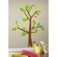 roommates 28 18 sq ft birch trees peel and stick wall decor