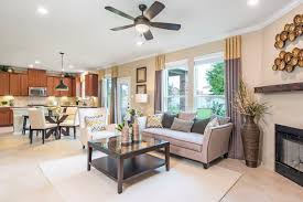 summerfield a new home community by kb home new homes in taylor tx summerfield plan a 2655 great room and kitchen