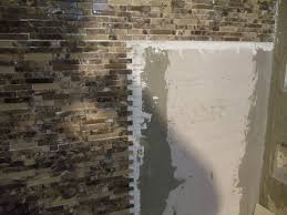 how to glass tile shower walls diy home repair