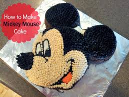 mickey mouse cake how to make a mickey mouse cake