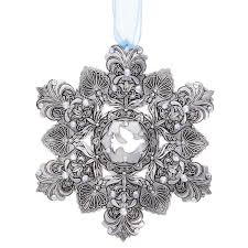 ornament swarovski and snowflakes stunning swarovski