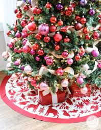 a colorful christmas tree inspired by charm