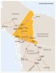 Skagway Alaska Map by Yukon Driving Map U2013 Yukon Travel Connections