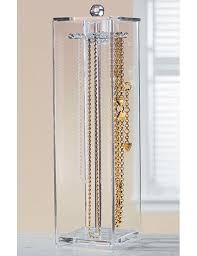 necklace holder case images Acrylic necklace holder in jewelry boxes and organizers jpg