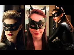 catwoman inspired makeup tutorial recreation youtube patrones