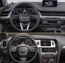 Audi Q7 2015 - comparison audi q7 new vs old how different carnoise