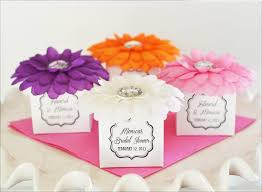 Flower Favors by Baby Shower