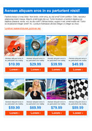automotive newsletter templates email marketing getresponse