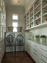 8 tidy laundry rooms that make washday fun hgtv