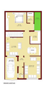 4 bed floor plans 100 sq m home plan 5 marla 4 bed room 5 marla house plan