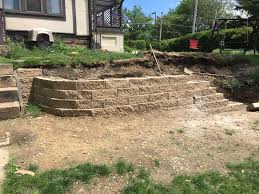 retaining walls u2013 beware of that stafford house