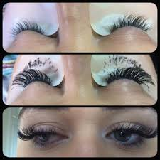 mink and volume russian volume lash extensions beauty ninety6