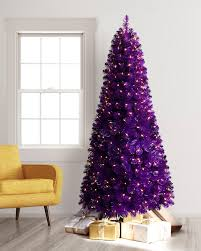 Ez Artificial Christmas Tree Stand Purple Artificial Christmas Tree Treetopia