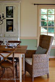 paint colors for dining room with chair rail our summer dining