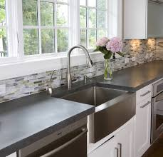 White Kitchen Faucet by Decorating Single Rectangle Stainless Steel Apron Sink On White