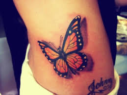 johnny name with monarch butterfly on hip golfian com