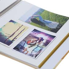 photo album with sticky pages diy 30 sheets 60 pages hardboard craft handmade sticker sticky
