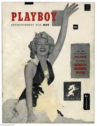 first ever copy of playboy magazine featuring marilyn monroe