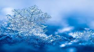 winter snowflakes blue photography abstract nature snow winter