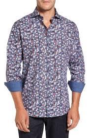bugatchi mens silk shirt nordstrom