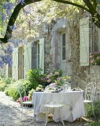 French Country Outdoor Furniture by 20 Chic French Country Terrace Décor Ideas Shelterness