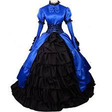 Ball Gown Halloween Costumes Aliexpress Buy Victorian Dress Gothic Dress Halloween
