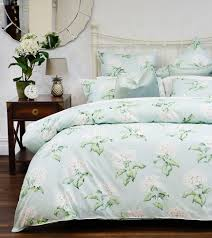 laura ashley heligan quilt cover in duck egg queen for 160 30