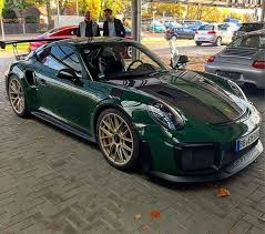 porsche british racing green british racing green 2018 porsche 911 gt2 rs is dressed for the