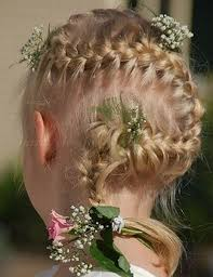 flower girl hair wedding flower girl hairstyles hairstyle foк women