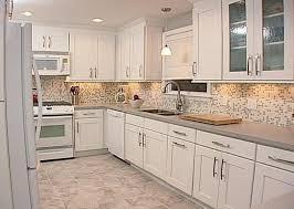Decorative Kitchen Backsplash White Kitchen Backsplash Tile Ideas Bookcase And Decorative Yellow