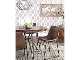 signature design by ashley centiar 5 piece round dining table set